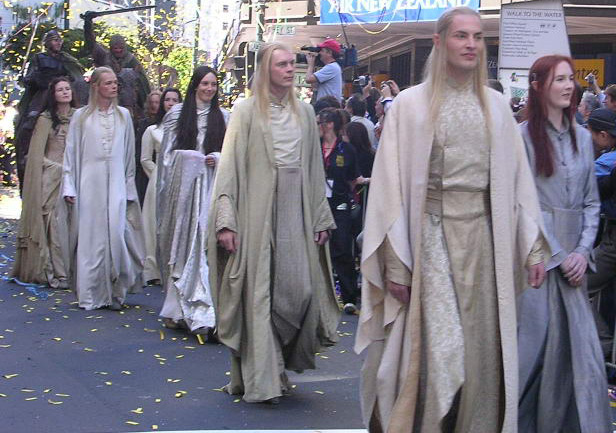 Elves from the Wellington ROTK Premier Parade