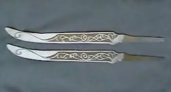 Making The White Knives