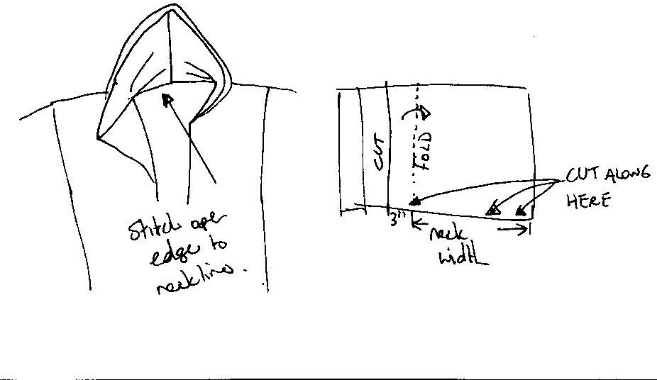 Easy wizard robe pattern
