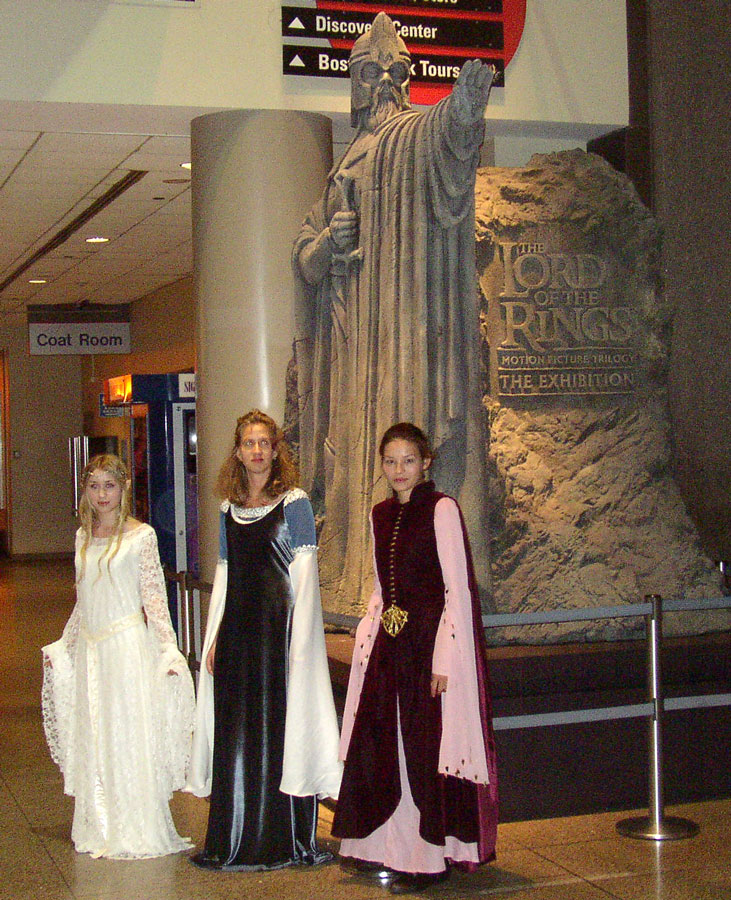 Lord Of The Rings Costume And Props Exhibit