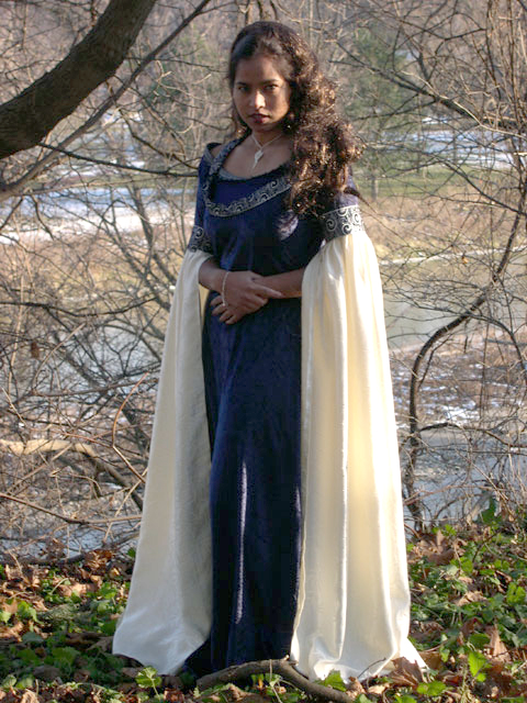 Arwen Blue Costume at an Arwen Costume The