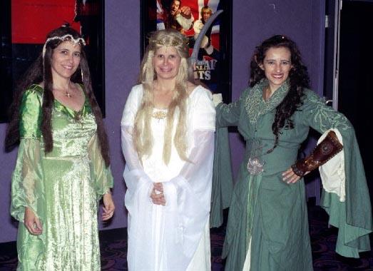 Arwen riding costume