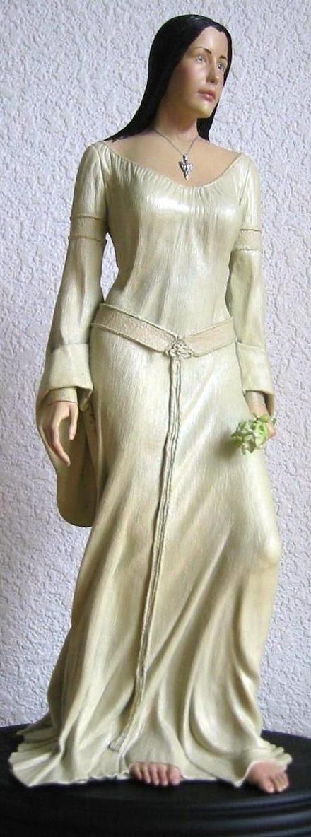 White Weta Gown