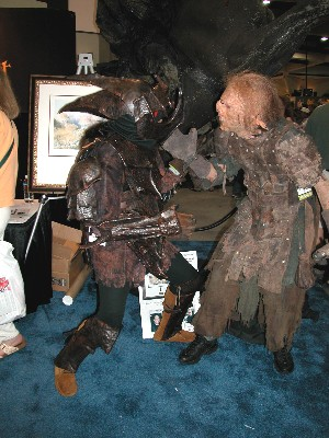 Making a moria orc ed and the sideshow orc from comic con 2002 solutioingenieria