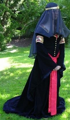 Arwen's Mourning Dress by Amaryllis