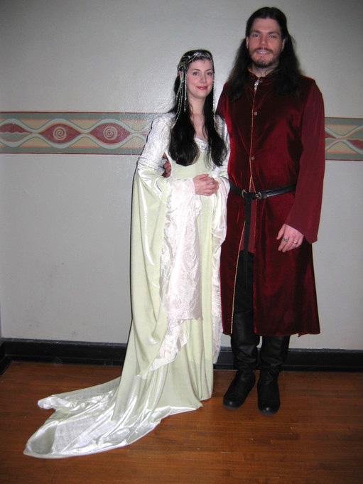 Arwen's Coronation Gown by Ariel