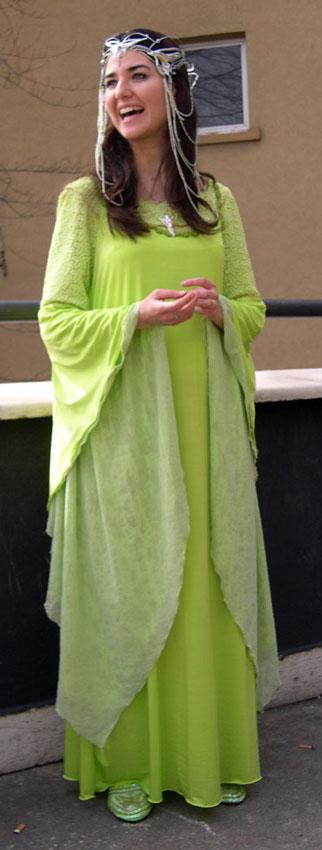 Arwen's Coronation Gown by Francesca
