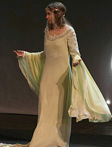 Arwen's Coronation Gown by Sarah